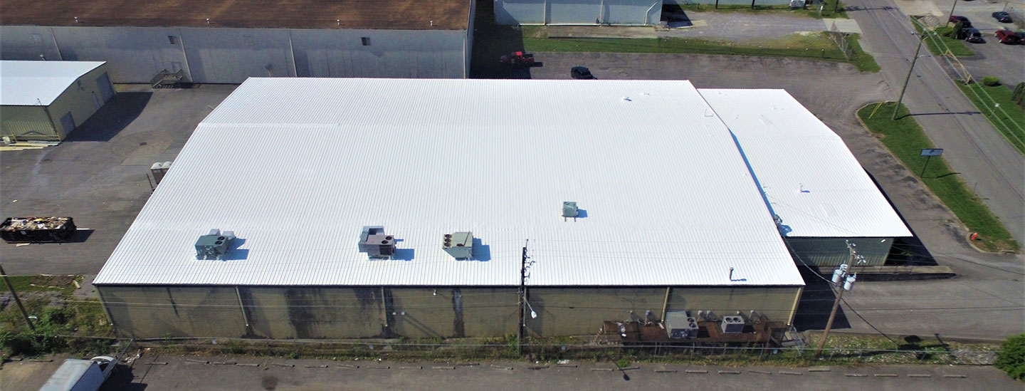 Metal Roof Restoration Commercial Roof Coatings Glick